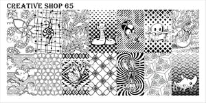 Creative Shop stamping plate 65