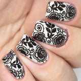 """As Black as Night"" stamping polish (improved formula)"