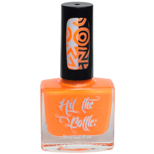 """Orange you Excited?"" stamping polish"