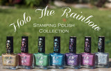 """Holo the Rainbow"" stamping polish collection"
