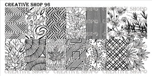 Creative Shop stamping plate 96