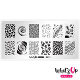Whats Up Nails - Intergalactic Encounters stamping plate
