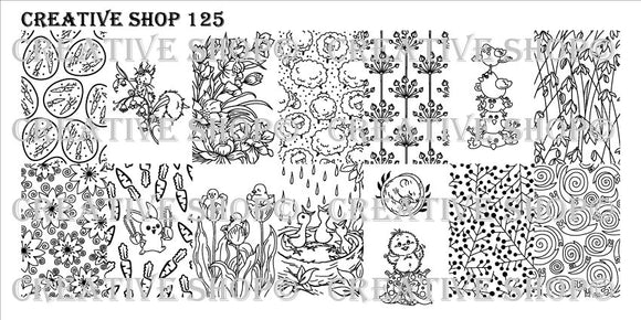 Creative Shop stamping plate 125