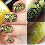 """Hello Buttercup"" stamping polish"