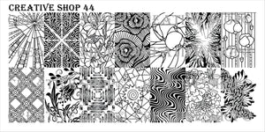 Creative Shop stamping plate 44
