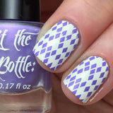 "'I lilac it like that"" stamping polish swatch"