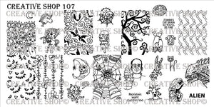 Creative Shop stamping plate 107