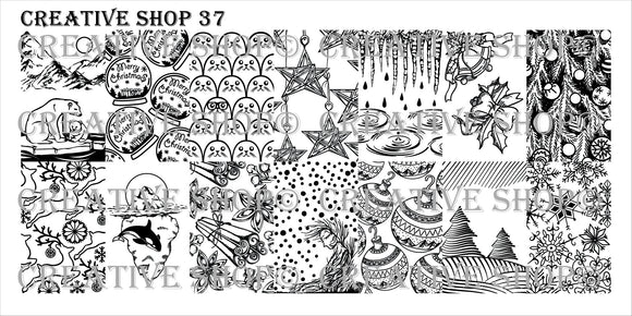 Creative Shop stamping plate 37