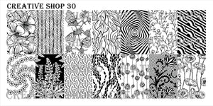 Creative Shop stamping plate 30