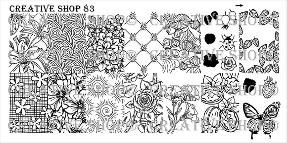 Creative Shop Stamping plate 83
