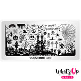Whats Up Nails - Happy Halloween stamping plate