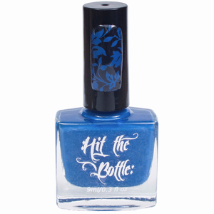 """Beware the Bates Motel"" stamping polish"
