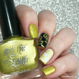 """Sucrose and yet so far"" stamping polish"