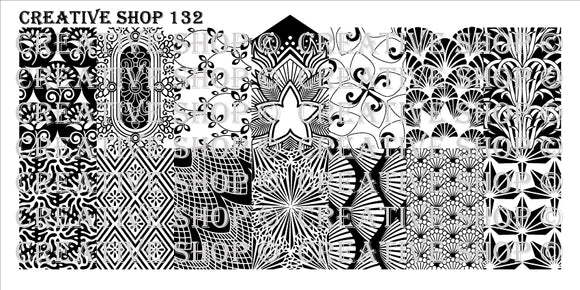 Creative Shop stamping plate 132