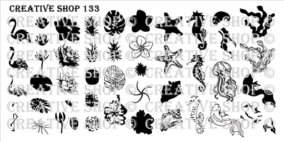Creative Shop stamping plate 133