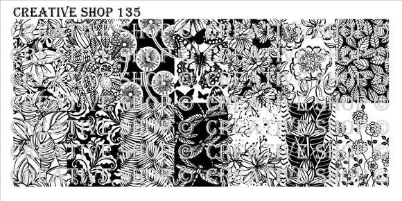 Creative Shop stamping plate 135