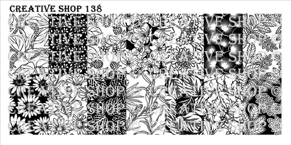 Creative Shop stamping plate 138