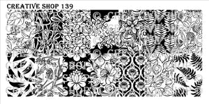 Creative Shop stamping plate 139