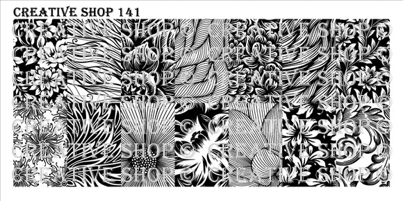 Creative Shop stamping plate 141