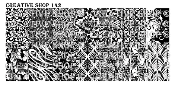 Creative Shop stamping plate 142
