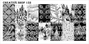 Creative Shop stamping plate 152