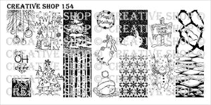 Creative Shop stamping plate 154