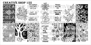 Creative Shop stamping plate 155