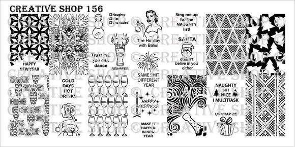Creative Shop stamping plate 156