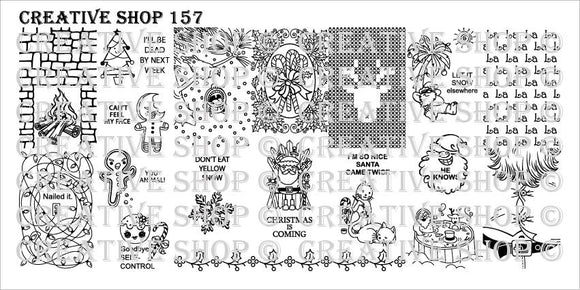 Creative Shop stamping plate 157