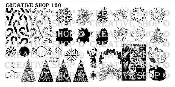 Creative Shop stamping plate 160