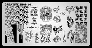 Creative Shop stamping plate 161