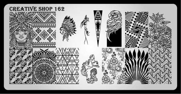 Creative Shop stamping plate 162