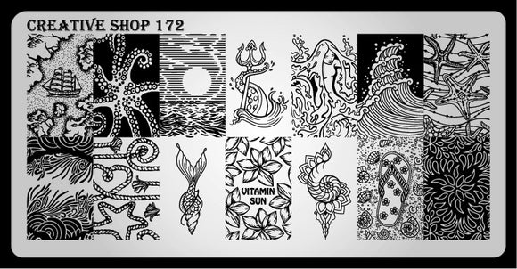 Creative Shop stamping plate 172
