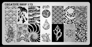 Creative Shop stamping plate 173