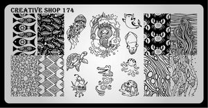 Creative Shop stamping plate 174