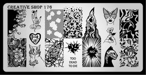 Creative Shop stamping plate 176