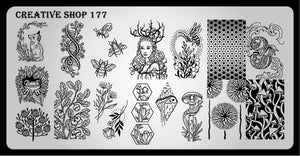 Creative Shop stamping plate 177