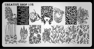 Creative Shop stamping plate 178