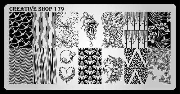Creative Shop stamping plate 179