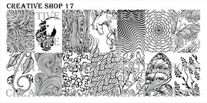 Creative Shop Stamping plate 17
