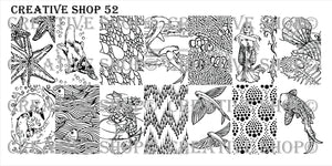 Creative Shop stamping plate 52
