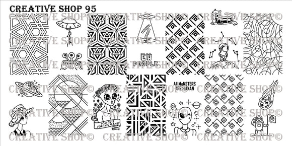 Creative Shop Stamping plate 95