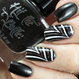 """Black Magic"" jelly polish"
