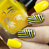"""Bumble Bee"" jelly polish"