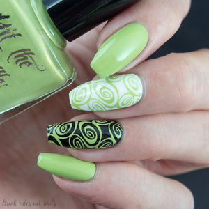"""To Thine own Elf be True"" stamping polish"