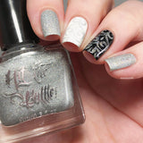 """Holo there Beautiful!"" stamping polish"