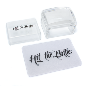 """Half Pint"" small clear stamper"