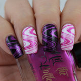 """Magenta at your own Risk 2.0"" stamping polish"