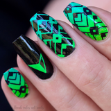"""Pour some Neon on me!"" stamping polish collection"