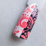 """Peaches 'n Scream"" stamping polish"